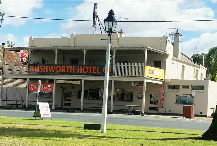 Rushworth, address available on request