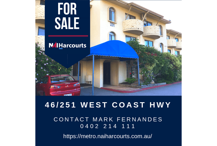 46/251 West Coast Highway Scarborough WA 6019 - Image 1