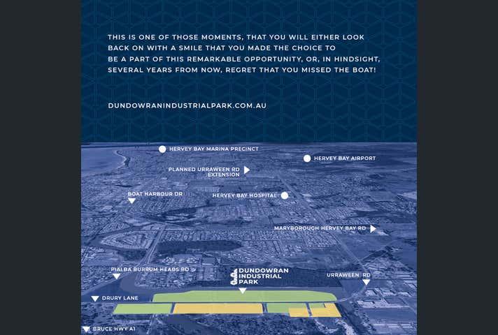 DUNDOWRAN INDUSTRIAL PARK, LOT 1000 DRURY LANE Dundowran QLD 4655 - Image 1