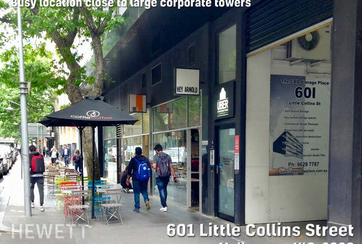 Storage F48, 601 Little Collins Street Melbourne VIC 3000 - Image 1