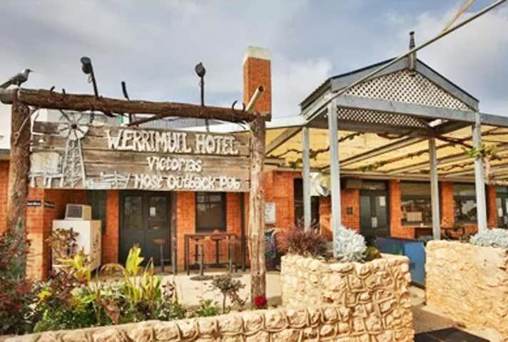 Werrimull Hotel, 5543 Millewa Road, Werrimull, Vic 3496