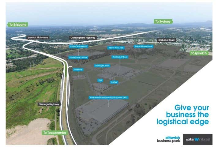 CITISWICH BUSINESS PARK, Lot 29, 1 Ashburn Road, Bundamba, Qld 4304