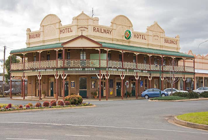 The Railway Hotel, 32 Main Street Grenfell NSW 2810 - Image 1