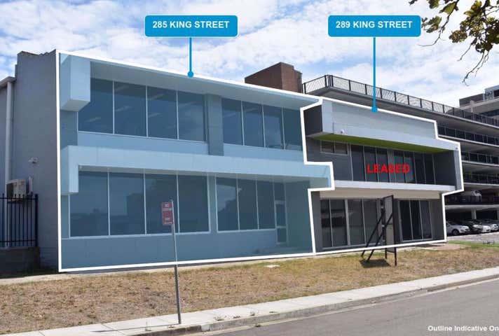 Rent solar panels at 285-289 King Street Newcastle, NSW 2300