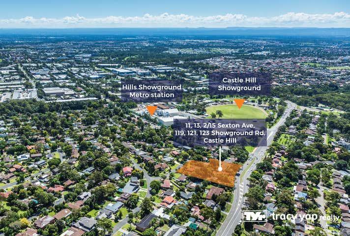 11,13,2/15 Sexton Avenue & 119, 121, 123 Showground Road Castle Hill NSW 2154 - Image 1
