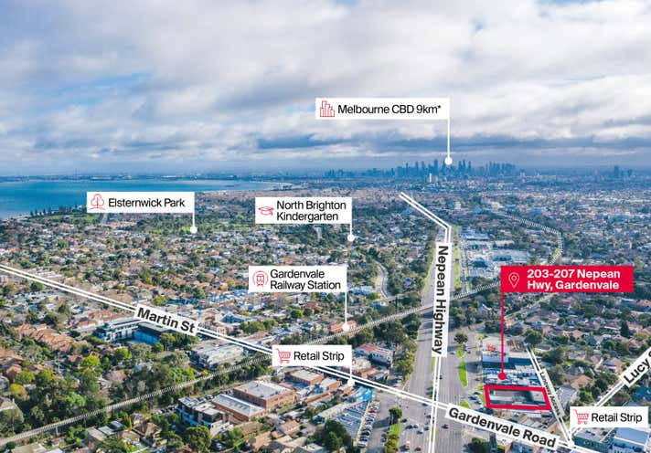 203-207 Nepean Highway Gardenvale VIC 3185 - Image 1