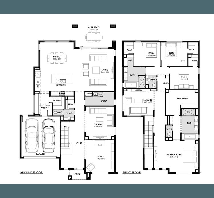 Emperor 48 Floor Plan