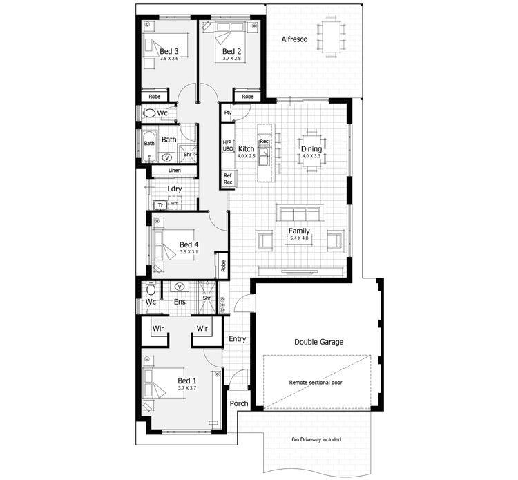Flynn Floor Plan