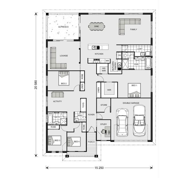 Casurina  Floor Plan