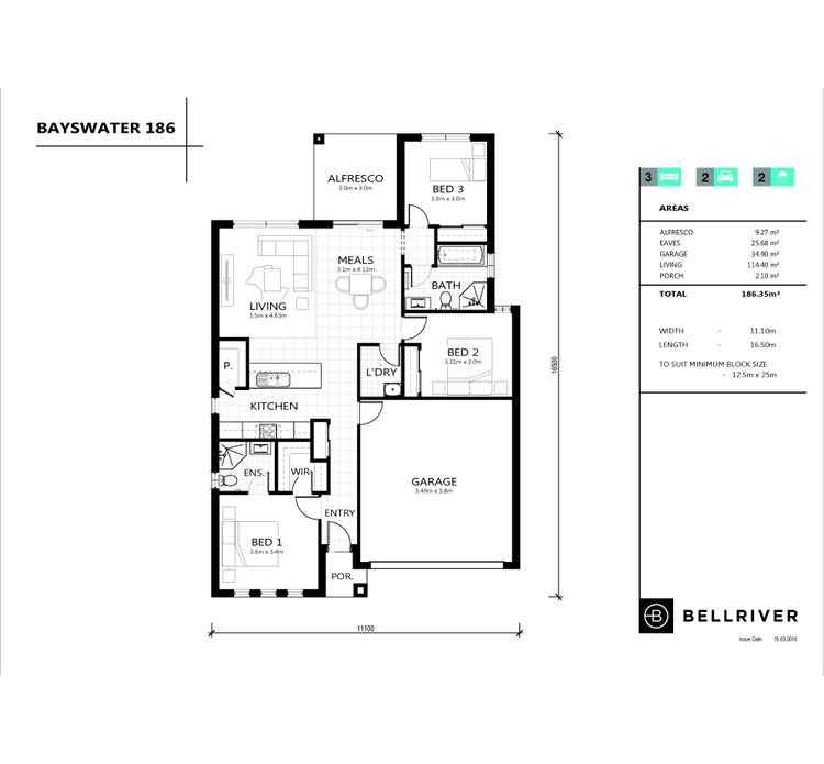 Bayswater Floor Plan