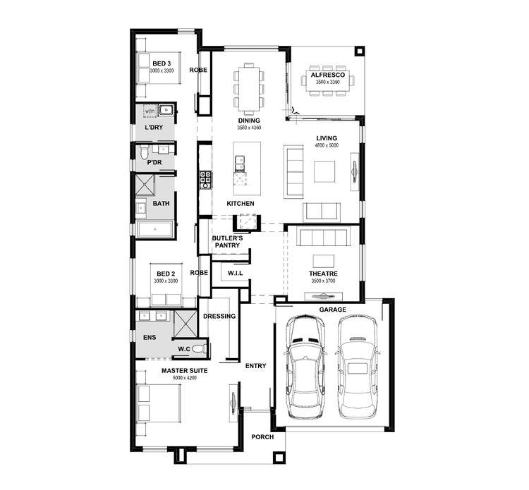 Amalfi Home Design Amp House Plan By Henley
