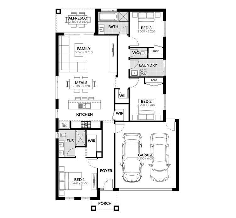 Swanston Floor Plan