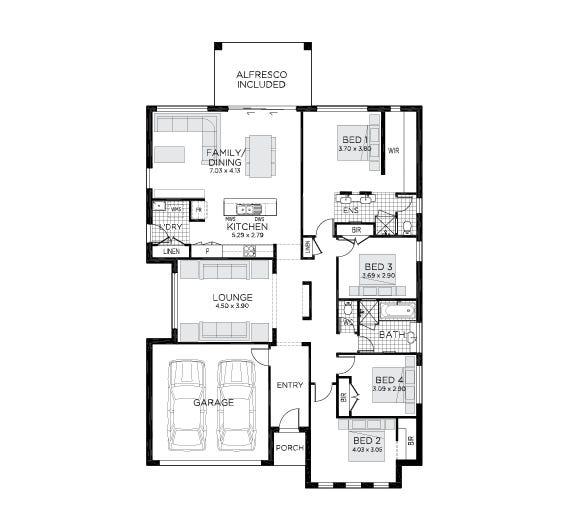 Evoke Floor Plan
