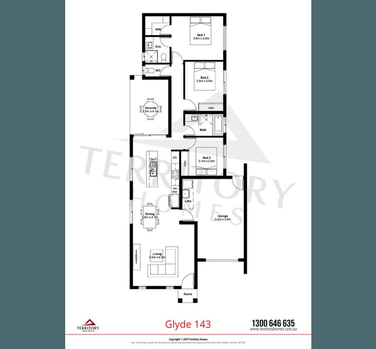 Glyde Floor Plan