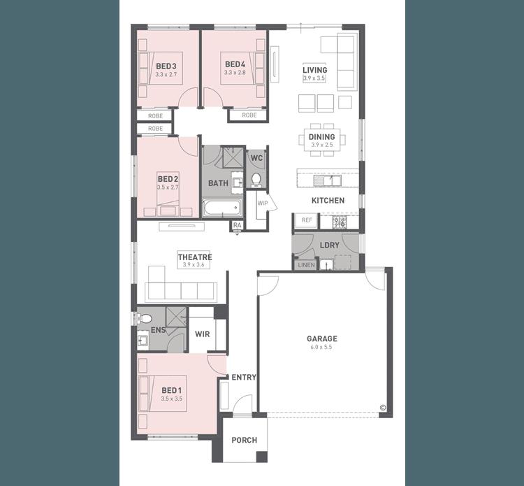 Addison 20 Floor Plan