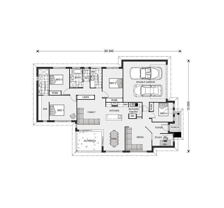 Bedarra Floor Plan