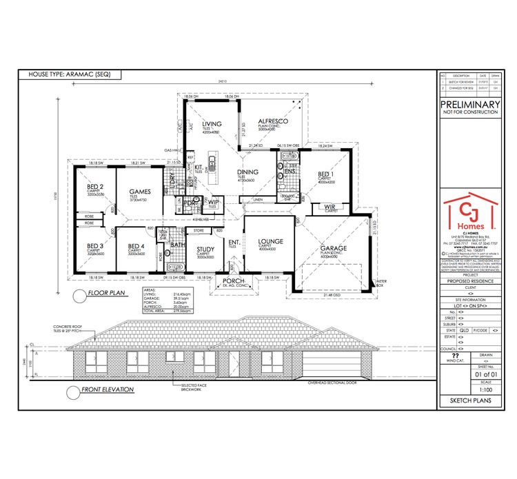 Aramac Floor Plan