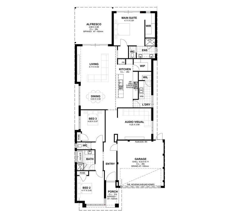 Movida S1 Floor Plan