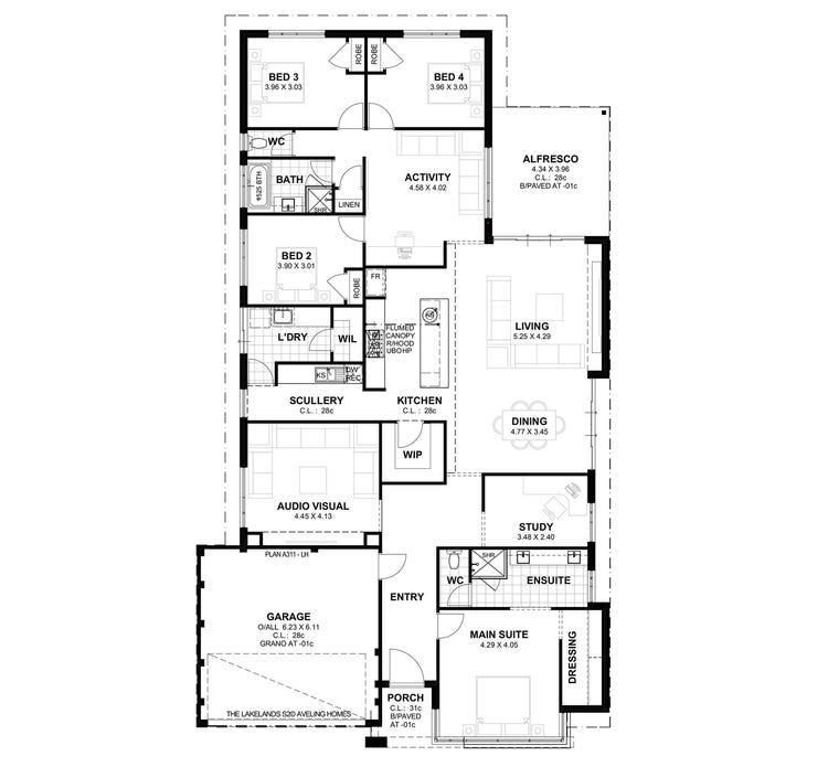 Lakelands S2 Floor Plan