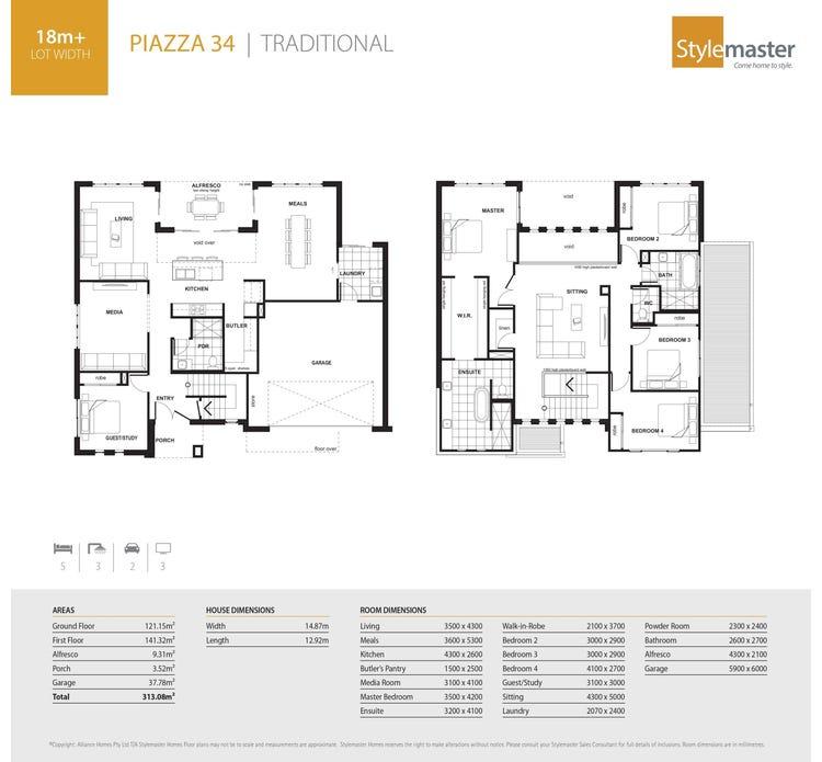 Piazza Floor Plan