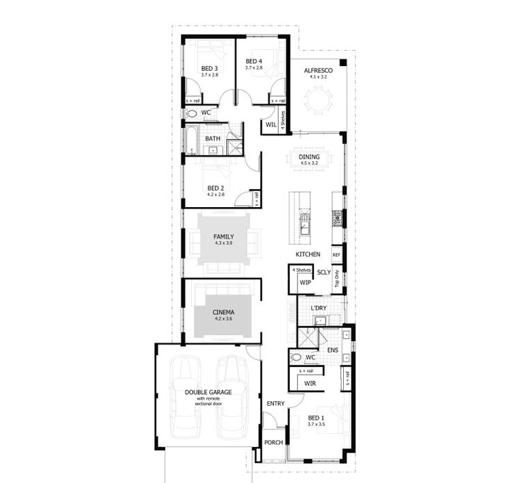 The Hunter Floor Plan