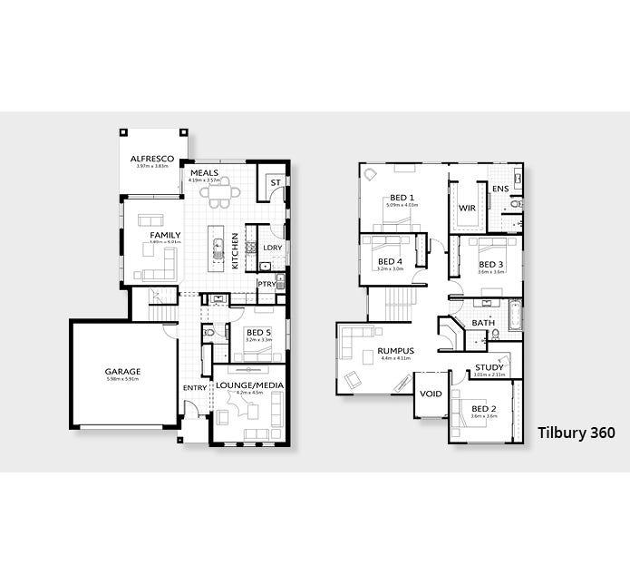 Tilbury Floor Plan