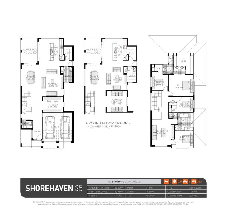 Shorehaven 35   Elite Facade Floor Plan