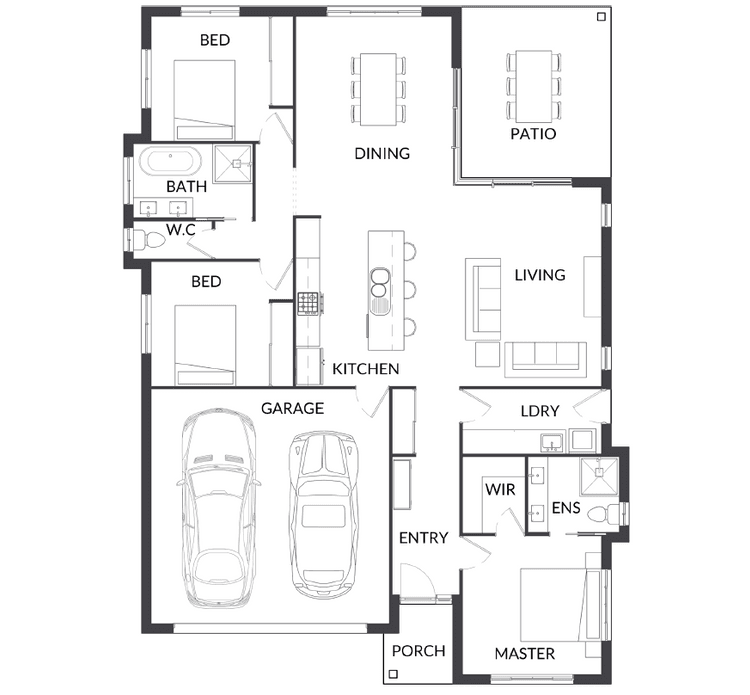 BSA1 Floor Plan