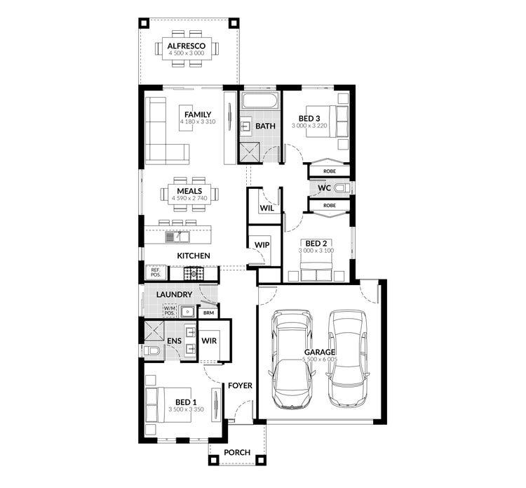 Canterbury Floor Plan