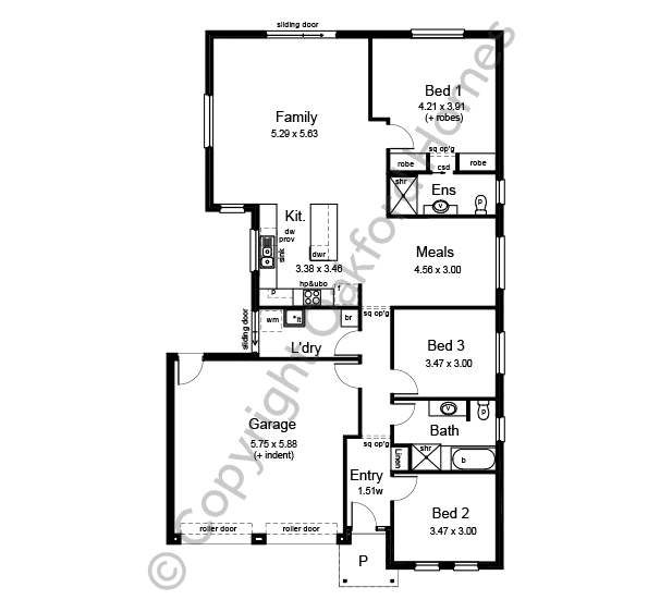 Mariner 140 Floor Plan