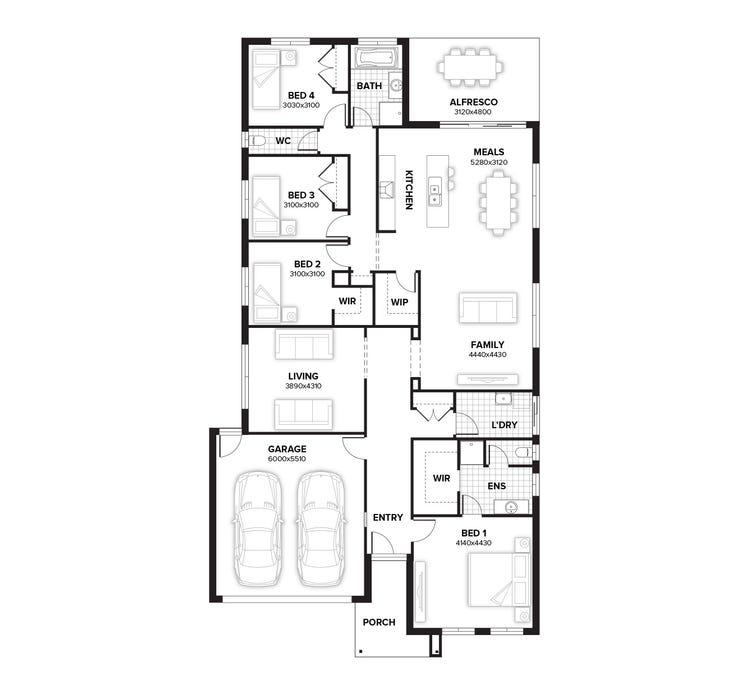 Northcote Floor Plan