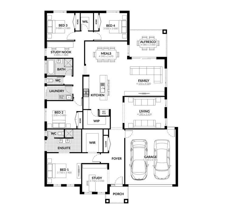 Bourke Floor Plan