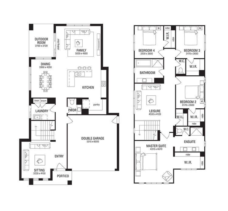 Salamanca Floor Plan