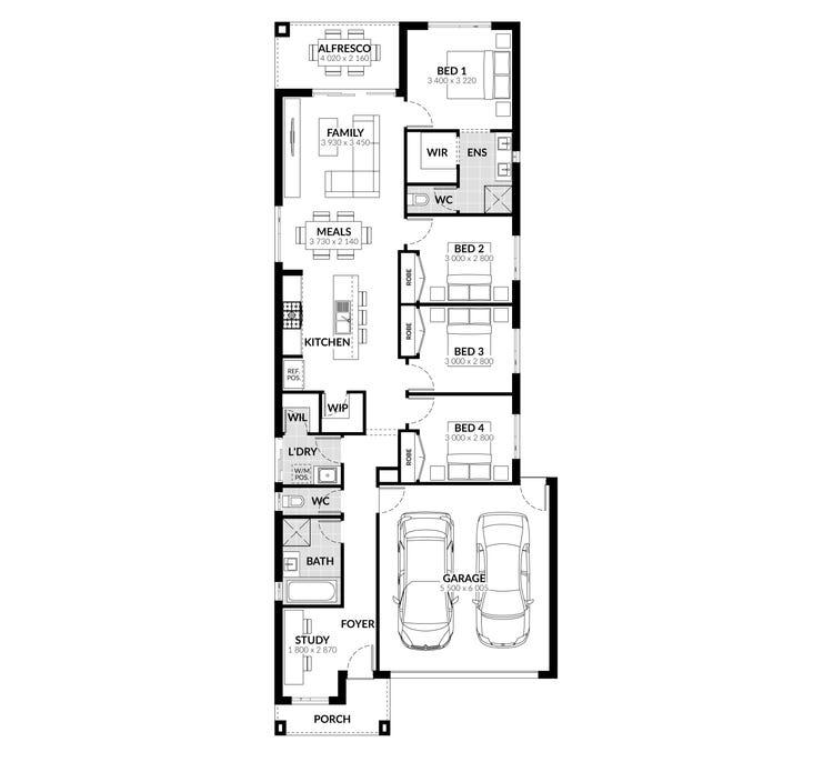 Highett Floor Plan