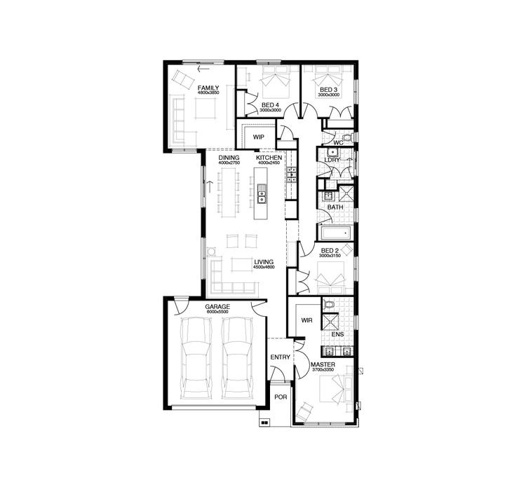 Palisade Home Design & House Plan by Simonds Homes