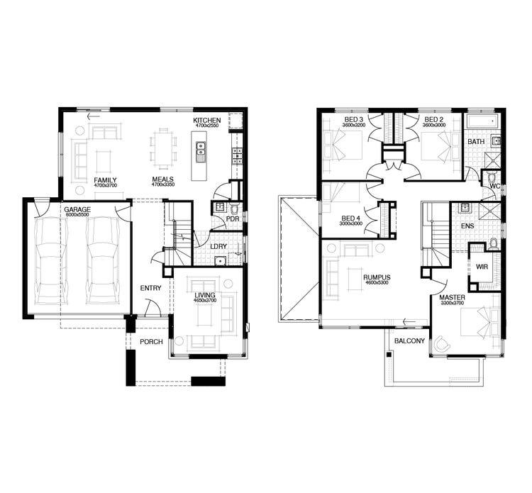 Carnavon Floor Plan