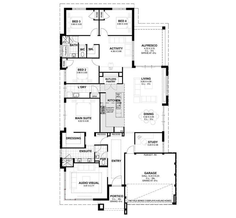 Vale S3 Floor Plan