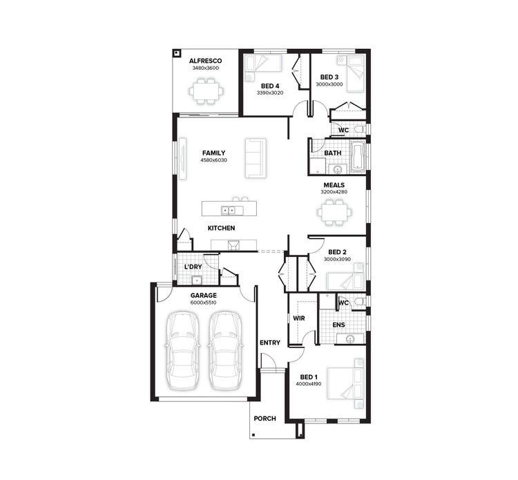 Deepdene Floor Plan