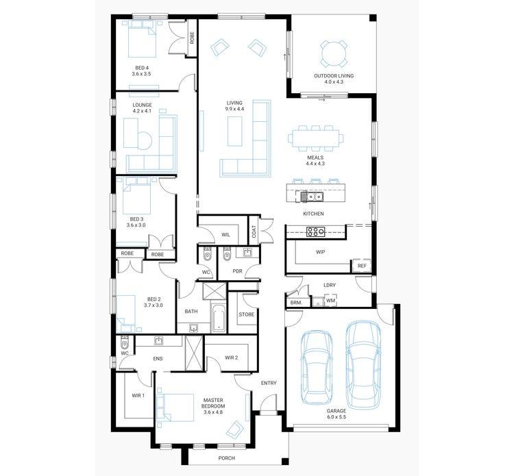Glenelg Home Design House Plan By Beachwood Homes