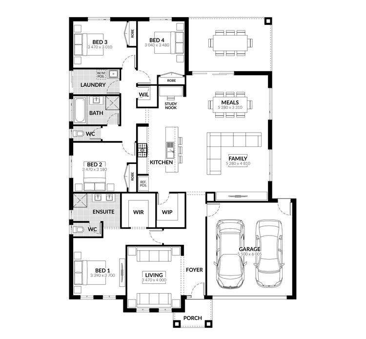 Brunswick Floor Plan