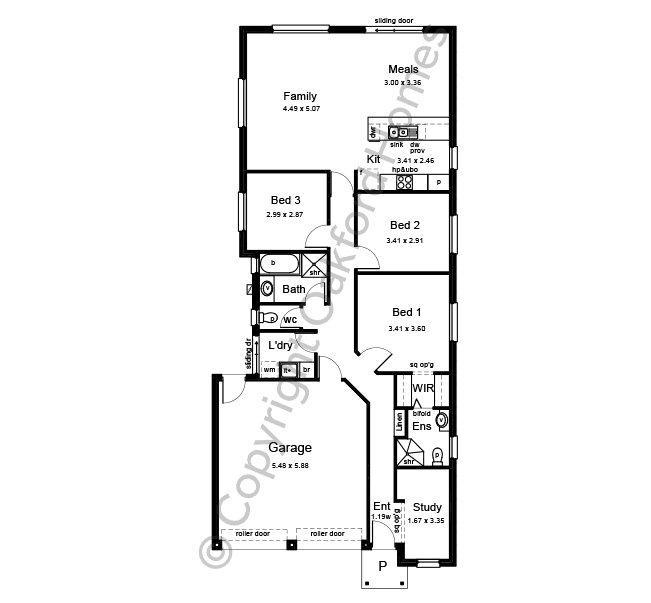Riviera MK2 Floor Plan