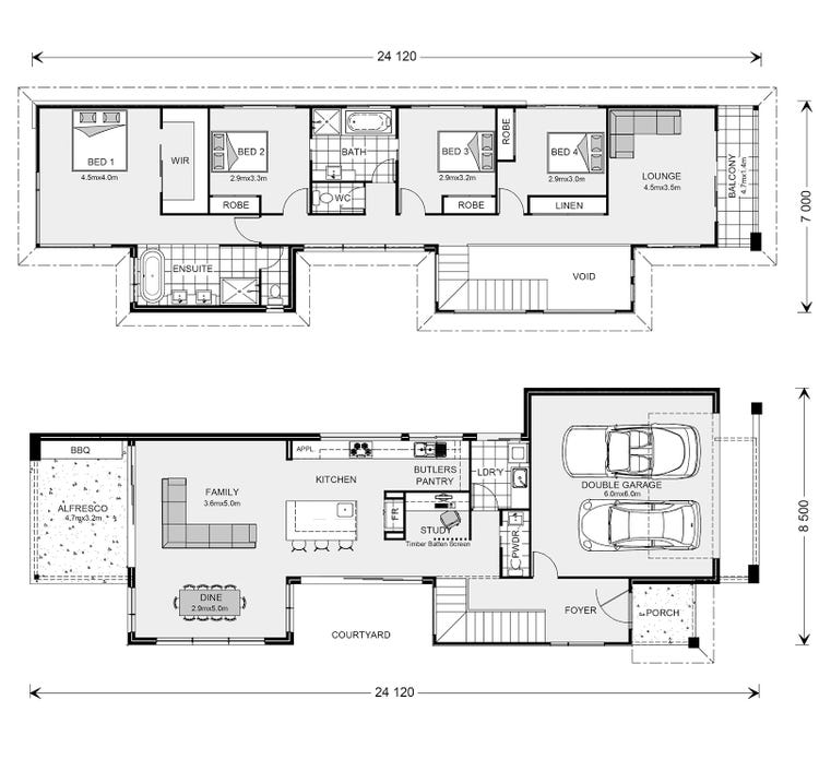 Nelson Bay Floor Plan
