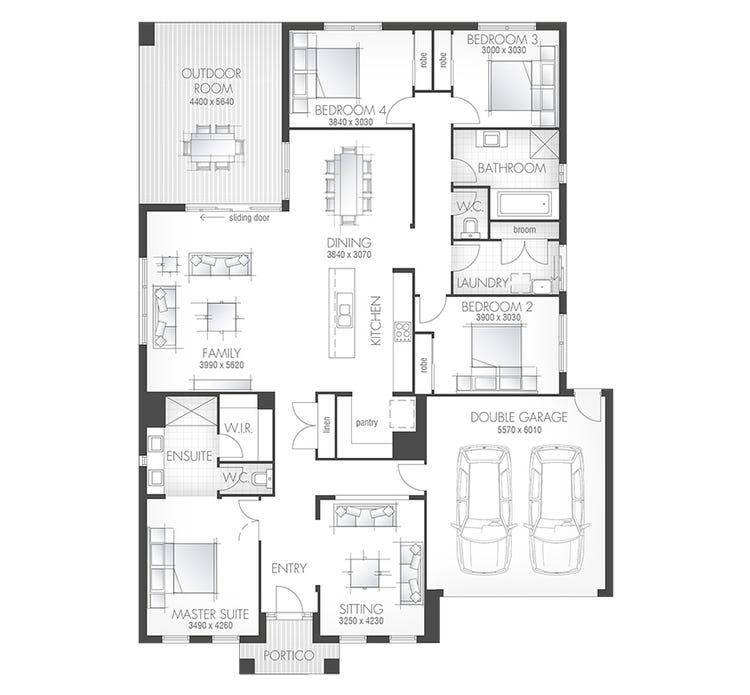 Santorini 21 Floor Plan