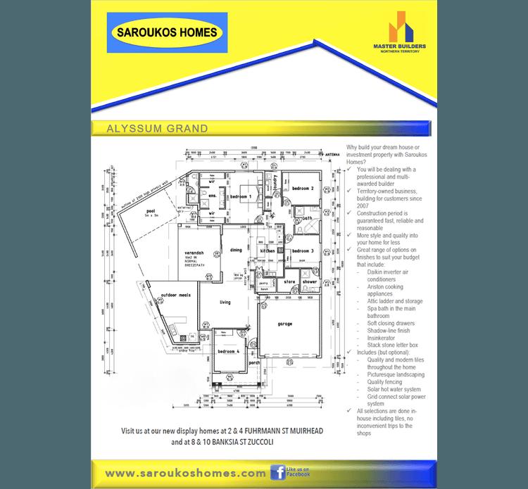 Alyssum Grand Floor Plan