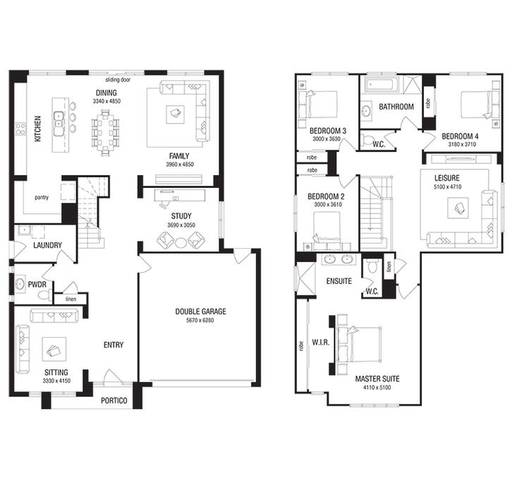Glendale Floor Plan