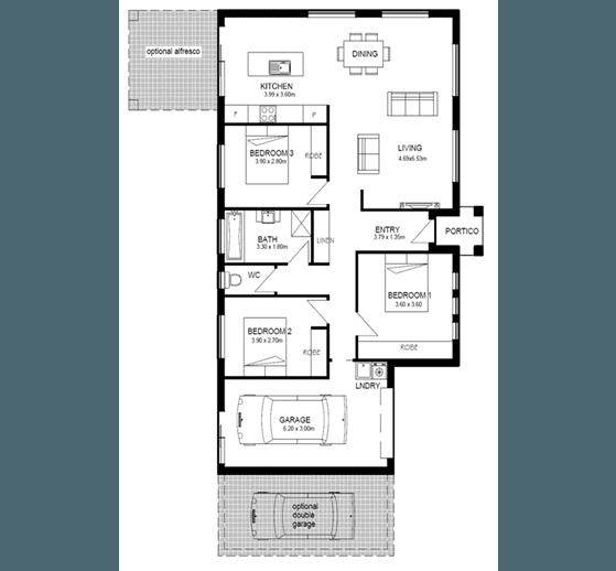 Abode 135 Floor Plan