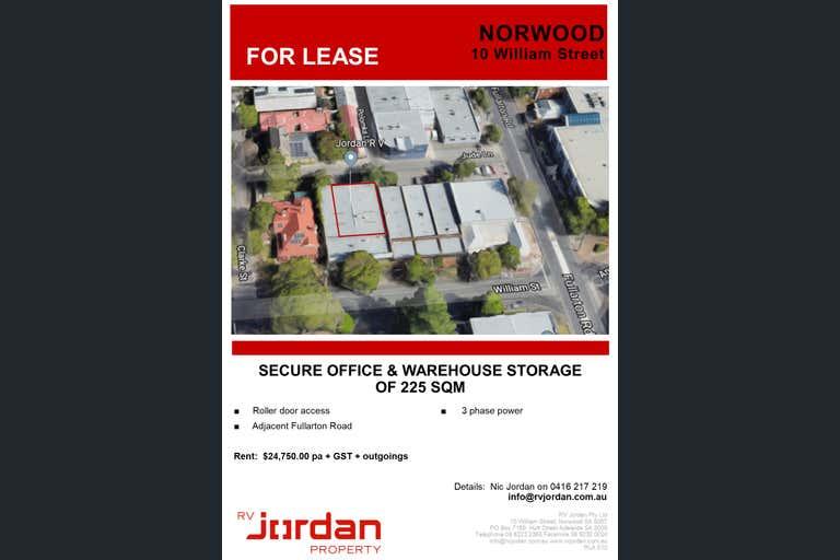 10 William Street Norwood SA 5067 - Image 1