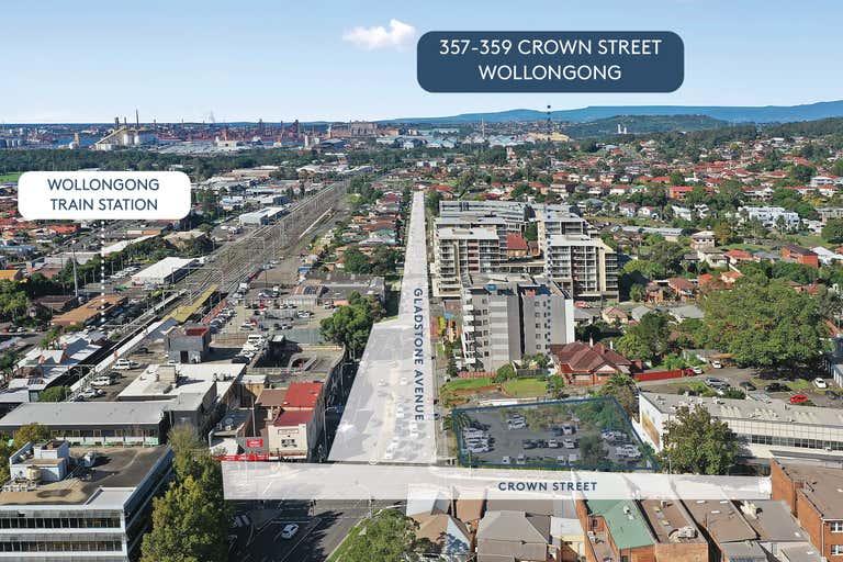 Wollongong CBD mixed use development opportunity , 357-359 Crown Street Wollongong NSW 2500 - Image 4