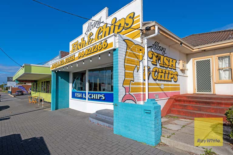 155 Albany Highway (Albany Fish & Chips - BUSINESS ONLY) Mount Melville WA 6330 - Image 1