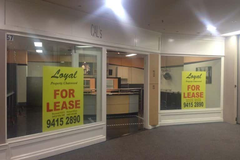 Shop57, 427-441 Victoria Avenue Chatswood NSW 2067 - Image 1